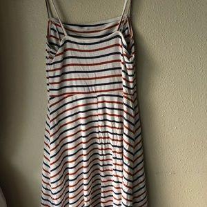 Skater striped dress